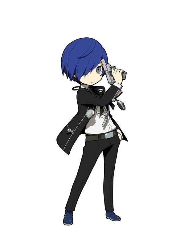 Persona q2 gameplay Akechin