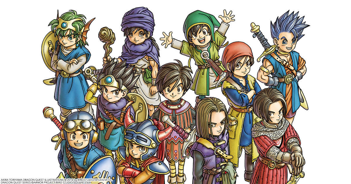 The Dragon Quest Series Where To Start Rpgamer