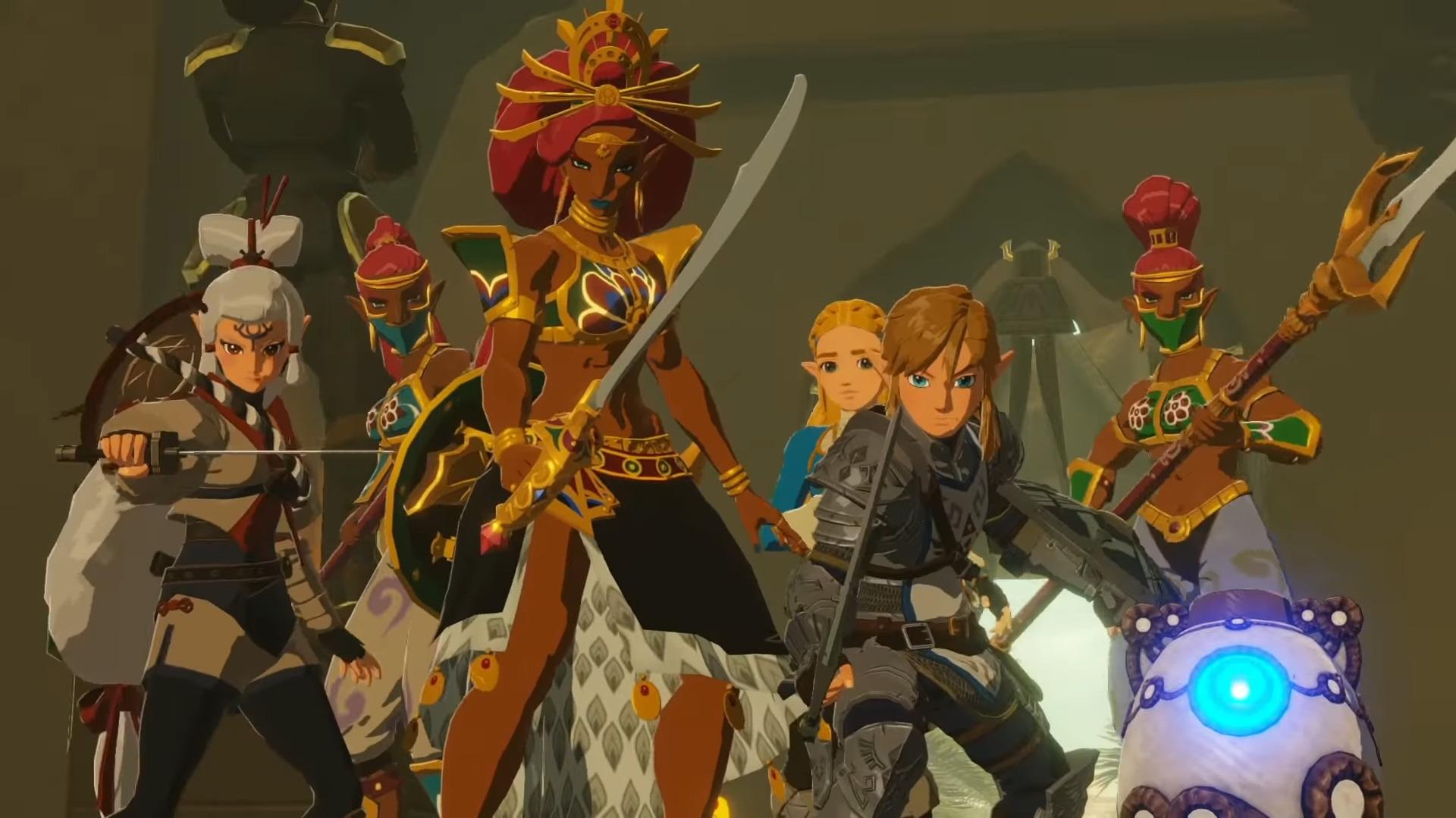 Hyrule Warriors  Age Of Calamity Receives New Trailer  Gameplay Footage  U2013 Rpgamer