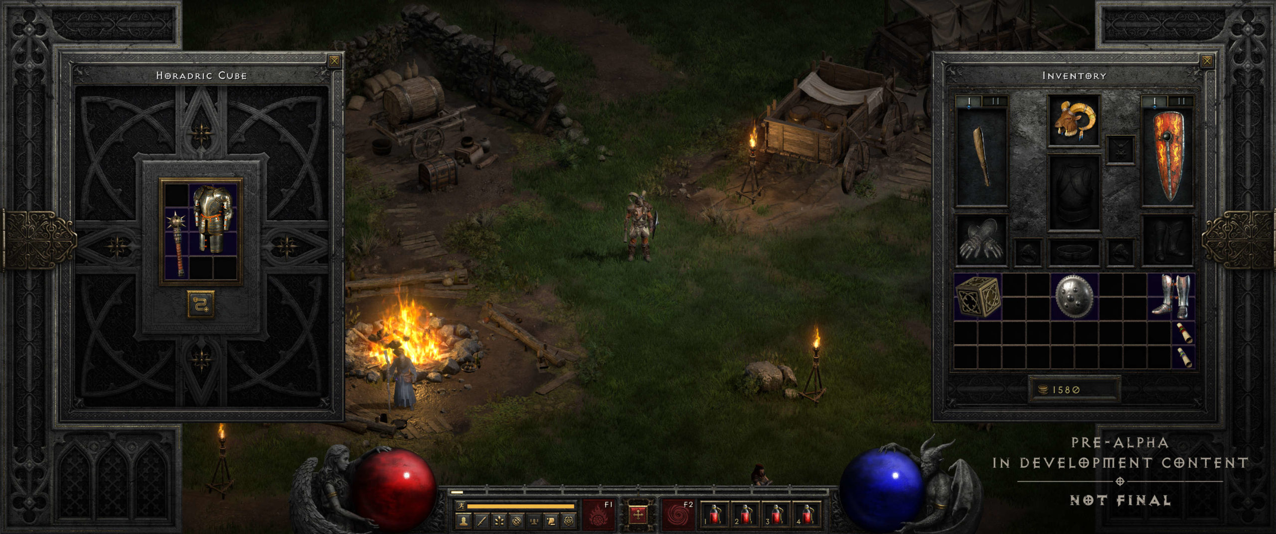 diablo ii resurrected announced rogue revealed for